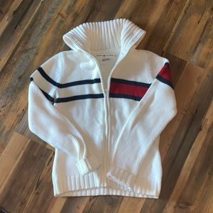 Vintage Tommy Hilfiger Zip-up Sweater